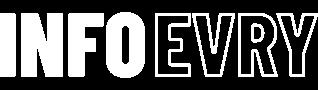 Info Evry Logo for Dark Scheme